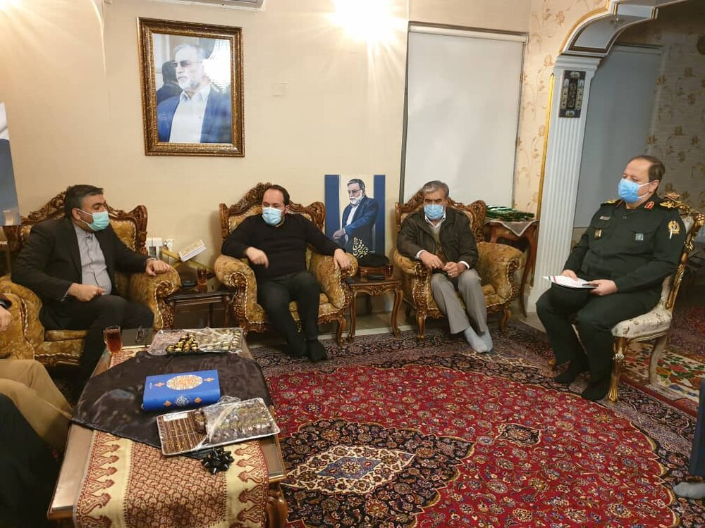 Members of the Parliamentary Security Commission met with the family of Martyr Fakhrizadeh – Mehr News Agency |  Iran and world's news