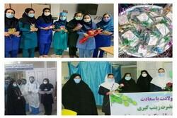 توزیع ۱۰۰۰ بسته تبرکی آستان قدس رضوی در ۲۲ بیمارستان کرمانشاه