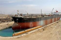 دومین نفتکش افراماکس آباندازی شد