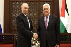 پوتین و محمود عباس گفتگو کردند