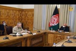 فرمانده تروریستهای سنتکام با رئیسجمهور افغانستان دیدار کرد