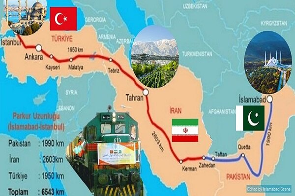 Islamabad-Tehran-Istanbul train to launch in 2021