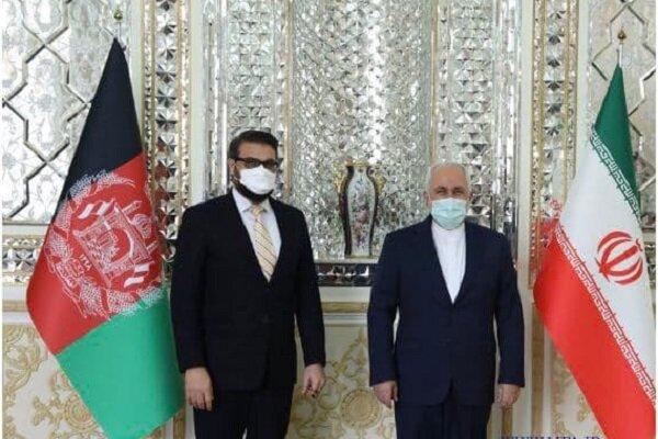 Zarif, Afghan security official meet in Tehran