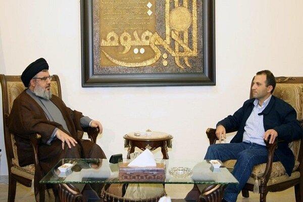 جبران باسیل: می خواهم از یک دوستیعنی سید حسن نصرالله کمک بگیرم