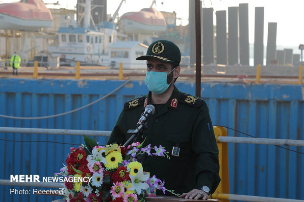 Iran launches 2nd home-built Aframax tanker