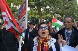 اتحادیه هنرمندان تونس، تجاوزگری اسرائیل را محکوم کرد