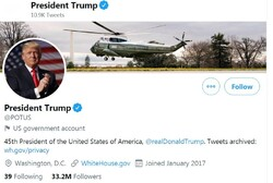 Biden's POTUS account to start from zero followers