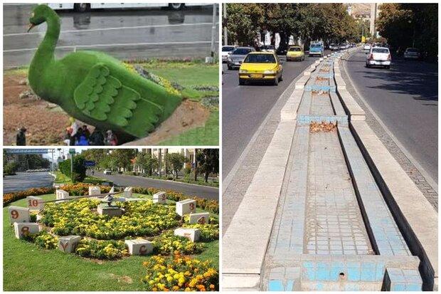 نمادهای شیراز اسیر بازسازیهای شهرداری