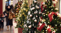 Christmas and New Year celebration in Iran