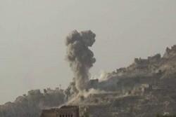 حملات راکتی و توپخانه ارتش سعودی به مناطق مسکونی در صعده یمن