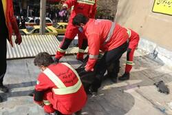 مرگ مرد میانسال در کانال کولر