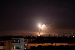 سامانه پدافند سوریه «تهاجم هوایی» رژیم صهیونیستی را دفع کرد