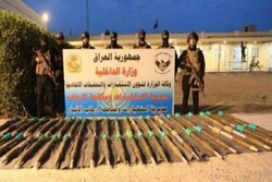 13 ISIL forces arrested, 46 rockets confiscated in W Iraq