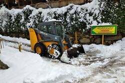 بارش ۴۰ سانتی برف در ماسوله/مسیر تردد باز است