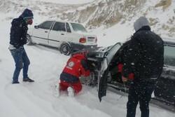 وقوع کولاک و مسدودی راه ها در گلستان/ امدادرسانی ادامه دارد