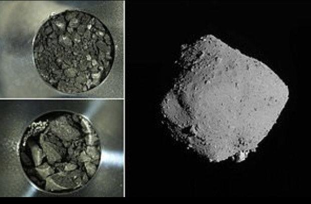 تصاویر جدید از نمونه های سیارک «ریوگو» منتشر شد