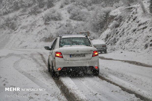 İran'da kar kendini gösterdi