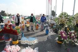 گل فروشان مسیر بهشت زهرا جمع آوری و ساماندهی می شوند
