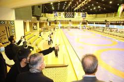 بازدید رئیس و اعضای هیات اجرایی کمیته ملی المپیک از فدراسیون کشتی