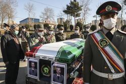 مراسم تشییع پیکر امیر سرافراز ارتش سرتیپ دوم سعید پورداراب