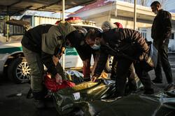 تہران کے قریب برفانی تودہ گرنے سے 10 افراد جاں بحق