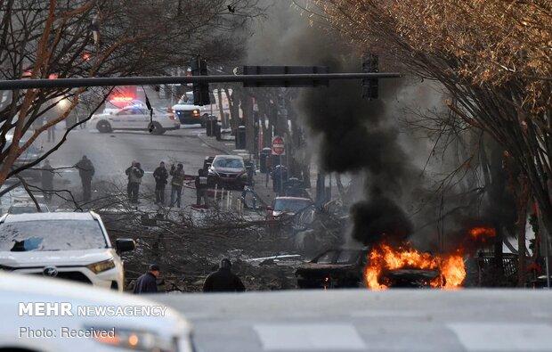 امریکہ میں کرسمس کے موقع پر دھماکے سے 3 افراد زخمی