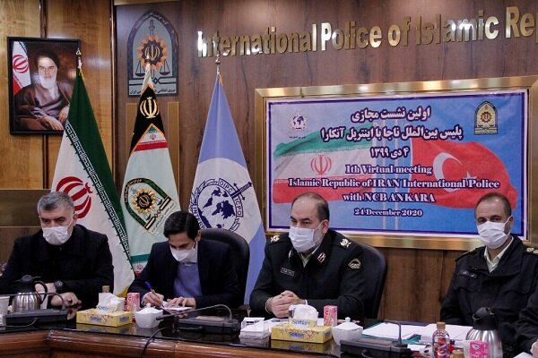 Iran, Turkey stress need to expand joint police coop.