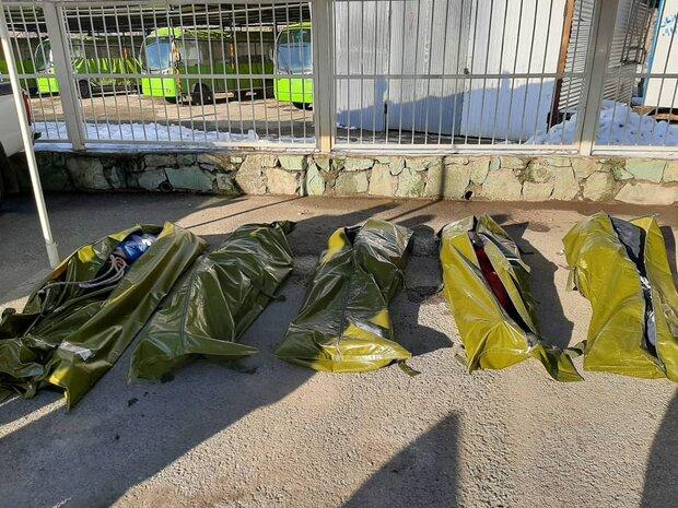 اسامی جانباختگان حادثه توچال اعلام شد/ هویت یک نفر نامشخص است