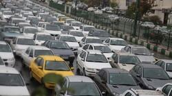 وضعیت ترافیک صبحگاهی پایتخت/ معابر اصلی درگیر بار ترافیکی