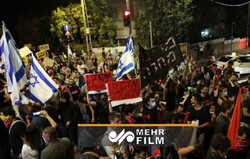 Tel Aviv'de Netanyahu karşıtı gösteri devam ediyor