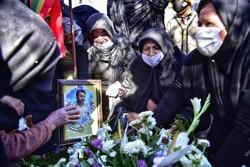 مراسم تشییع  نبی الله خطیری شهید مدافع امنیت در گلستان