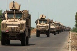 Another US military convoy targeted in S Iraq