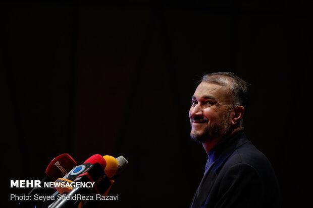 Press conf. to announce programs for 1st anniv. of Soleimani