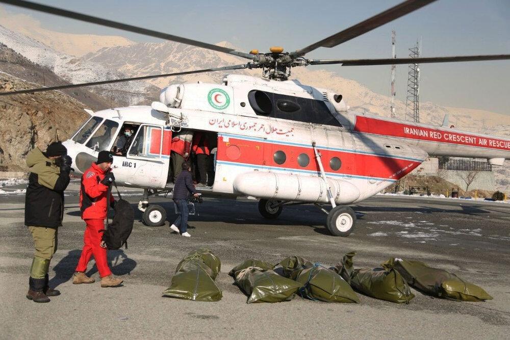 پایان عملیات جستجو در ارتفاعات تهران/حادثه ۱۱ فوتی قطعی داشت
