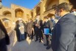 İran Turizm Bakanı tarihi Salihiye Camii'ni ziyaret etti
