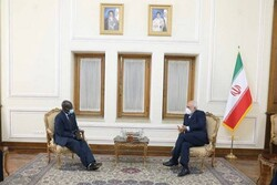 FM Zarif holds talks with Senegalese, Ghanaian envoys