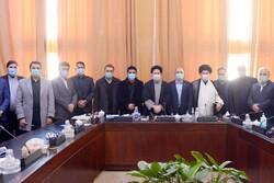 نشست رئیس فدراسیون کشتی با اعضای فراکسیون راهبردی و ورزش مجلس