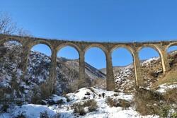 پلی با معماری ایرانی - اروپایی در «دوآب»