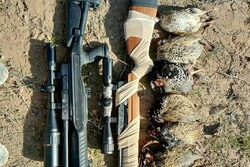 دستگیری ۲ شکارچی غیرمجاز در شهرستان دهلران