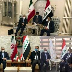 دیدار وزیر نیرو با ۳ مقام عراقی/گاز، برق و انتقالات مالی، محور مذاکرات