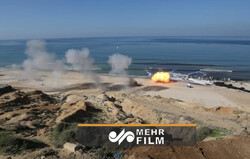 VIDEO: Joint military exercise of Palestine Resistance groups