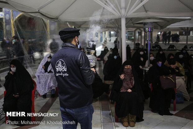 مراسم شام شهادت حضرت زهرا(س) در هیأت ریحانه النبی(س)