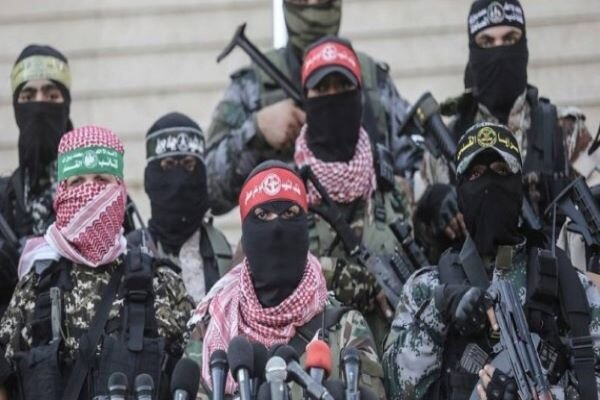 Palestine Resistance groups hold 1st joint military exercise