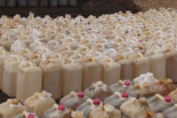 ۳۸ هزار لیتر فرآورده نفتی قاچاق در کرمان کشف شد