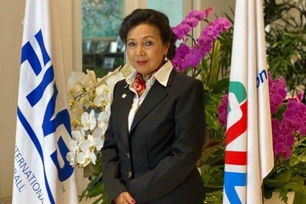 Head of AVC congratulates improvement of Iranian women