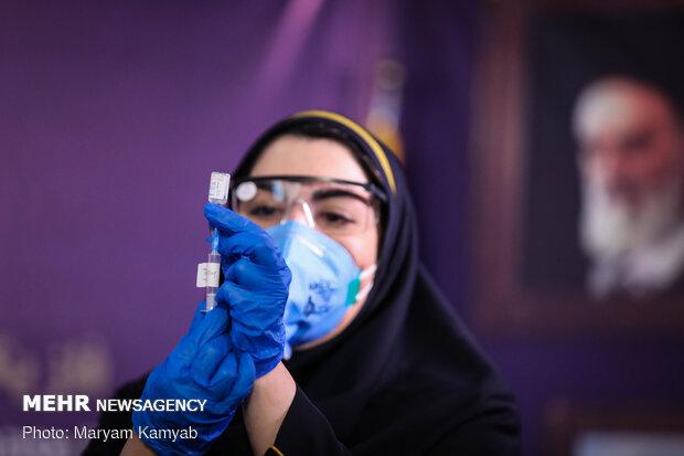 حقن لقاح كورونا الإيراني في المجموعة الرابعة سيتم الأحد المقبل