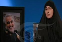 Şehit Kasım Süleymani'nin kızı babası hakkında konuştu
