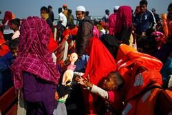اعزام دومین گروه از مسلمانان روهینگیا به جزیره غیرمسکونی