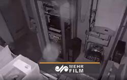 لحظه وقوع زلزله از دوربین مداربسته یک فروشگاه در کرواسی