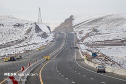 آزادراهی که بعد از افتتاح وزیر سوژه شد